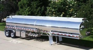 9200 Gallon +/-3% Petroleum Tank 5 Compartment with 1 double head
